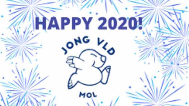 Jong VLD Mol drukt haar wensen uit voor het nieuwe jaar