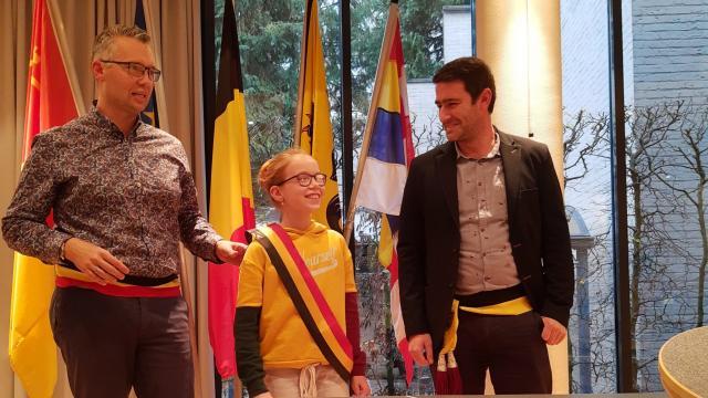 Janne Caeyers verkozen tot nieuwe kinderburgemeester