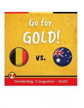 Live bij HC-Inter  Go for gold