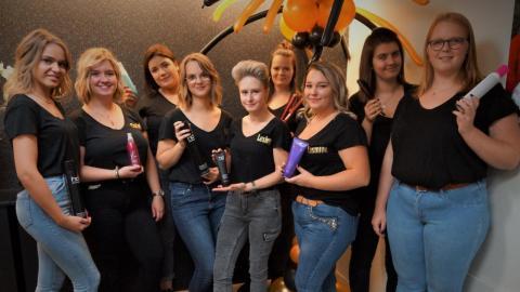 Opening kapsalon Hair Addict