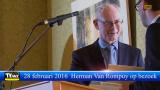 Herman Van Rompuy geeft lezing in het t Kristallijn