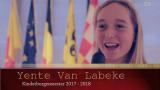 Yente Van Labeke is Kinderburgemeester